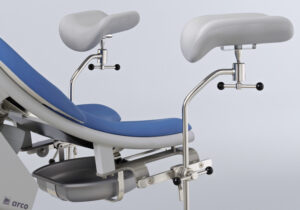 fotel ginekologiczny Arco - podpory Goepel