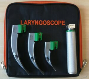 Laryngoskop zestaw ratunkowy
