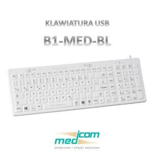 klawiatura medyczna B1-MED-BL